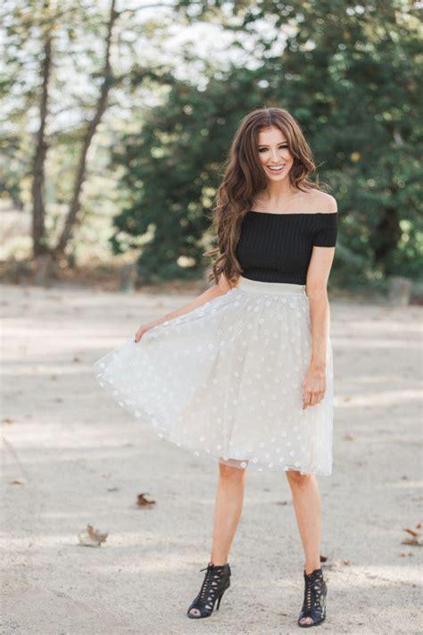 Morning Skirt tulle skirts ballerina skirts morning lavender polka