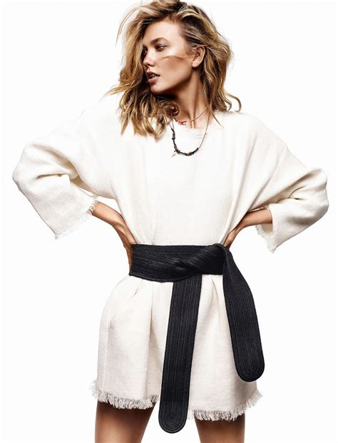 Karlie Classe Kloss Alique For Glamour France
