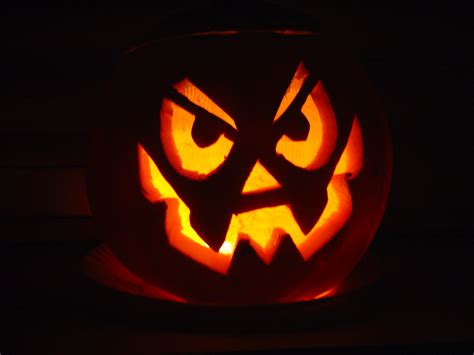 easy scary o lantern zucche halloween