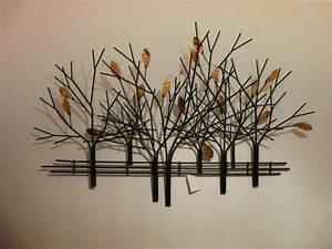 Moderne Wanddeko Aus Holz : 33 verbl ffende ideen f r wanddeko aus metall ~ Bigdaddyawards.com Haus und Dekorationen