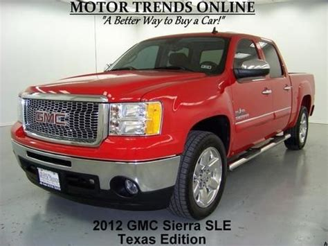 on board diagnostic system 2012 gmc sierra 1500 electronic toll collection buy used texas edition crew cab 5 3 v8 chrome 20s boards tow pkg 2012 gmc sierra 1500 7k in