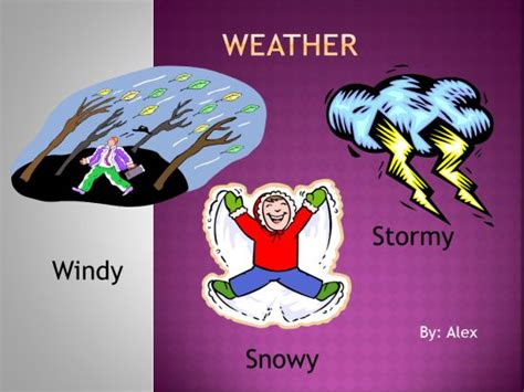 weather powerpoint  activity   computer lab
