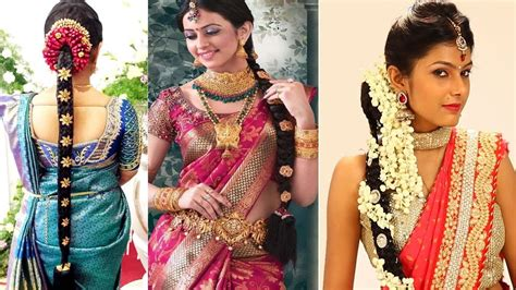 Wedding Hairstyles Indian : South Indian Bridal Hairstyles Step By Step