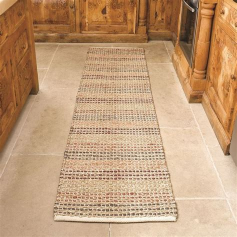 tapis de couloir naturel seagrass flair rugs 60x230