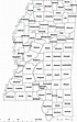 Counties of Mississippi. | Download Scientific Diagram