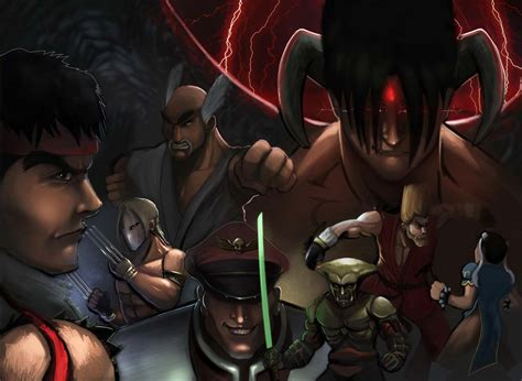 The Street Fighter Tribute Street Fighter X Tekken