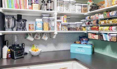 kitchen organizing products real kitchen pantry organization update polished 2384