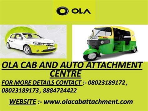 Ola Car Attachment And Ola Car Leasing Office Kottigepalya
