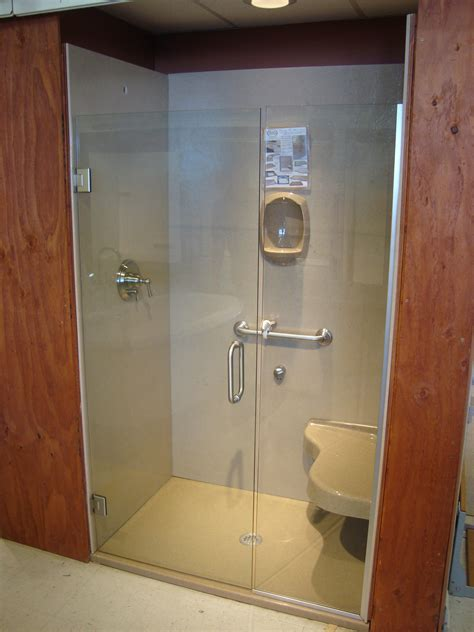 In The Shower by Handy Onyx Custom Showers
