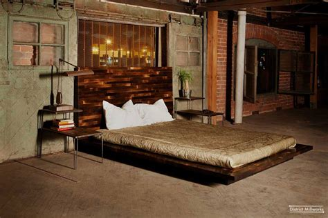 Rustic Industrial Interior Design Exles by Rustic Chic Bedroom Ideas Rustic Beds Rustic