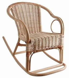 Fauteuil En Rotin : fauteuil bascule en rotin pour enfant ~ Teatrodelosmanantiales.com Idées de Décoration