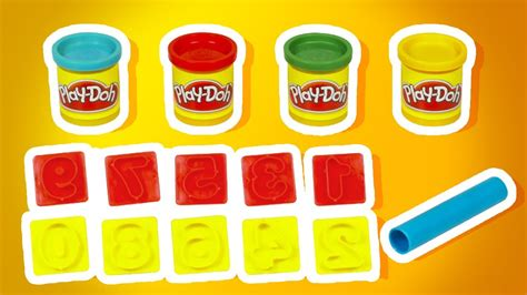 play doh with numbers