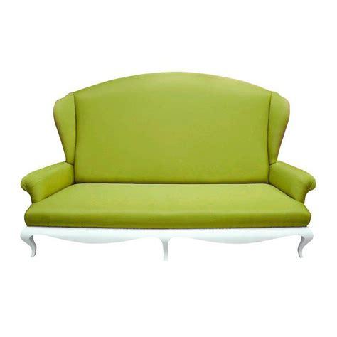 canape tissu luxe canapé de luxe 2 places tissu vert avec accoudoirs eiffel