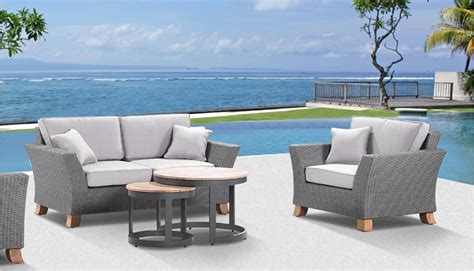 outdoor wicker furniture sydney melbourne bay gallery