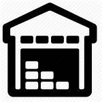 Warehouse Icon Storage Transparent Data Building Vector