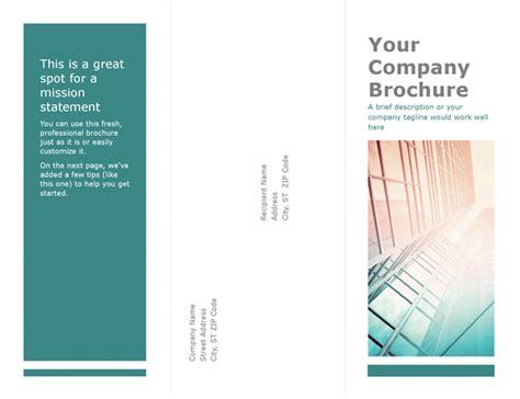 brochure templates word brochures office