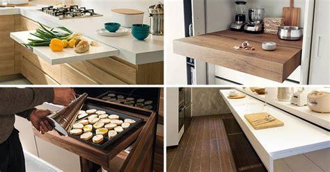 id馥 d馗o bureau de travail plan de travail de cuisine escamotable ide mobilier