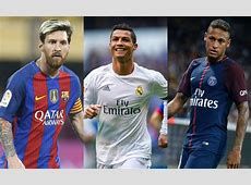 Ronaldo, Messi And Neymar Up For 2017 Best FIFA Men's