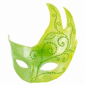 Masque Pour Peinture : tutoriel peinture masque de venise vert brico carnaval ~ Edinachiropracticcenter.com Idées de Décoration