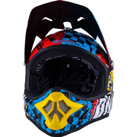 motocross crash helmets oneal 3 series wild motocross helmet 2015 off road atv