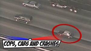 High speed Police Car Chase ends in Crash - YouTube