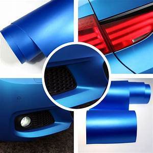 3m Car Wrapping Folie : 4 89 m 3m x1 52m matt blau metallic auto folie ~ Kayakingforconservation.com Haus und Dekorationen