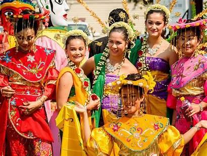 Indonesia Culture Pon Unique Indonesian Festival Bali