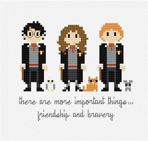 where can i buy a bed pixels in stitches harry potter trio cross stitch pattern