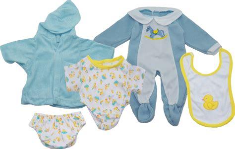 ready kids baby boy doll clothes set