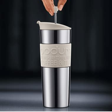 It's extremely lightweight (only 13 ounces) and compact, so it won't take up much space in your bag. Buy Bodum Travel Press Coffee Maker White at Well.ca | Free Shipping $35+ in Canada