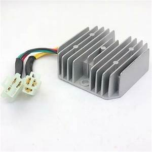 Voltage Regulator Rectifier Smdt250c1 250cc Chinese Scooter Moped 6 Wires M Vr04
