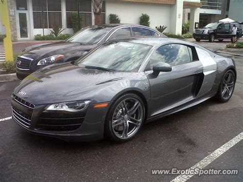 Audi R8 Spotted In Tampa, Florida On 09062012, Photo 2