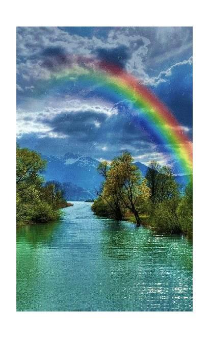 Scenery Rainbow Nature Sky Places God Amazing