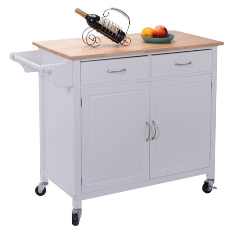utility cabinet on wheels us portable kitchen rolling cart wood island serving