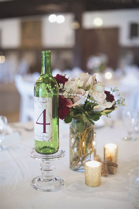 Williamsburg Winery Wedding Wine bottle and marsala