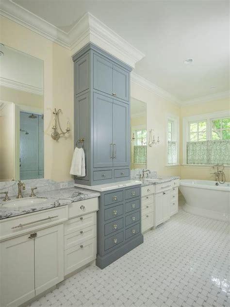 ivory washstand  cream capiz mirror transitional