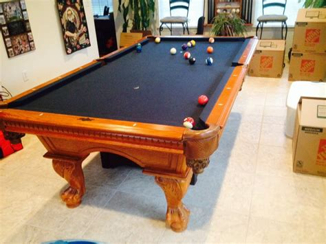 american heritage pool table rack 2 pool captain chairs