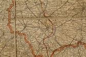Edmund Blunden's souvenir World War I map: St. Julien ...