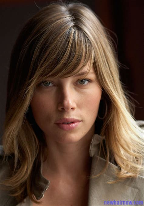 Jessica Biel Hairstyle ? New Hair Now