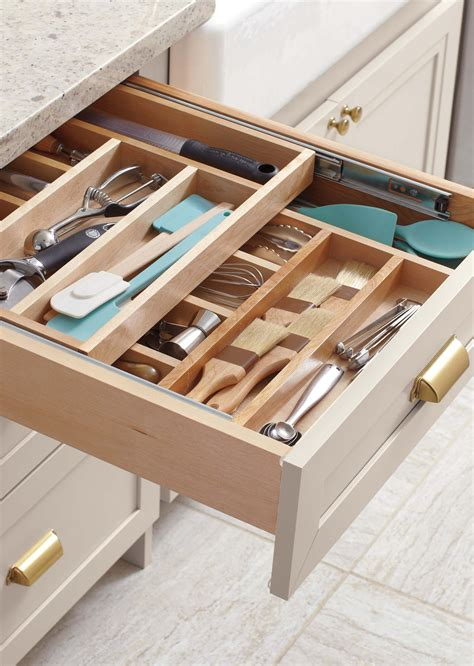 Kitchen Drawers by Martha S Top Kitchen Organizing Tips Great Home Storage