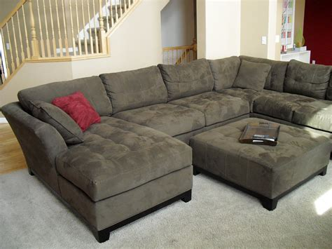 Sofa: Extra Deep Sectional Sofa Makes You Look Forward To