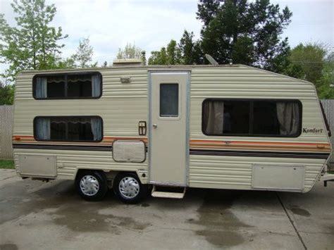 car storage kitchener 1987 komfort lite 20 ft travel trailer 2450 sacramento 1987