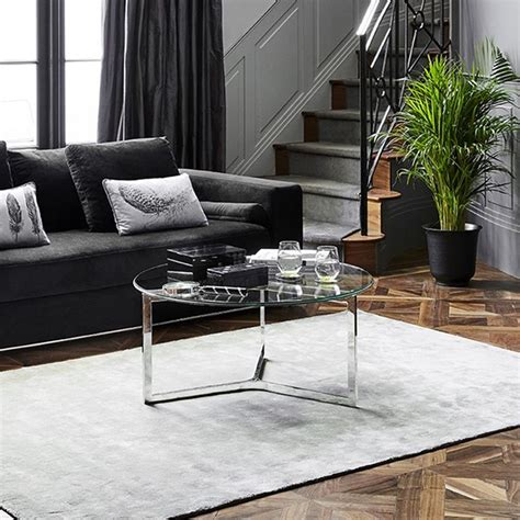 If you're looking for something more simple and contemporary, then this rounded design from. Round Glass Coffee Table | Living Room | Sweetpea & Willow