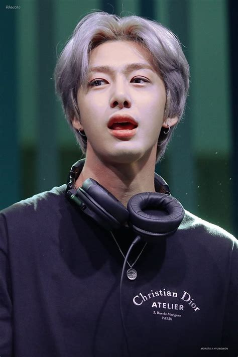 monsta xs hyungwon wows   visual  performance
