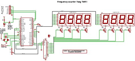 World Electronics Pic Frequency Counter Using