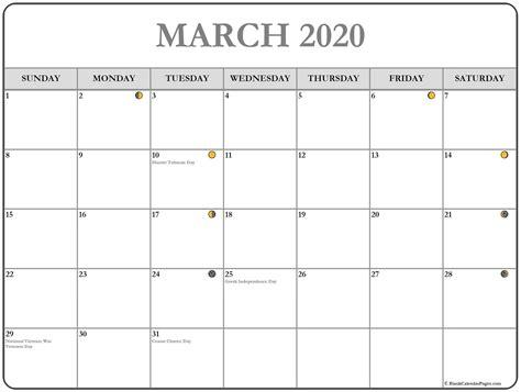 march  calendar  printable monthly calendars