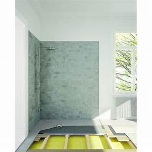 Panneau Stratifié Douche : panneau pour douche l italienne sur plancher bois ~ Zukunftsfamilie.com Idées de Décoration
