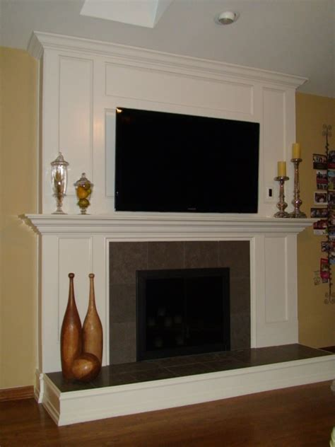 fireplace remodel ongoing project showcase page
