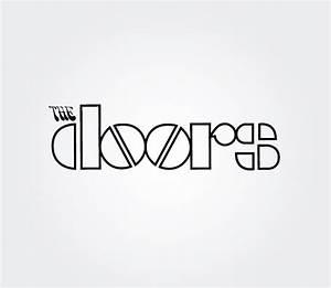The Doors Band Vector Logo  Free Vector Logo Template