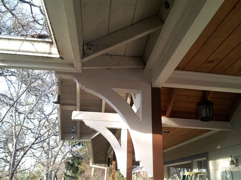 exterior wood bracket installation awesome exterior wood